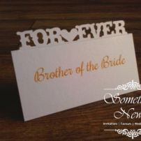 FOREVER - POPUP PLACE CARD