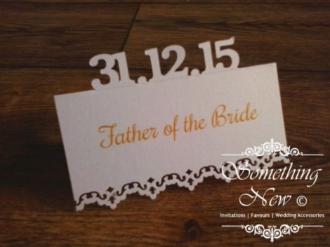 DATE - POPUP PLACE CARD