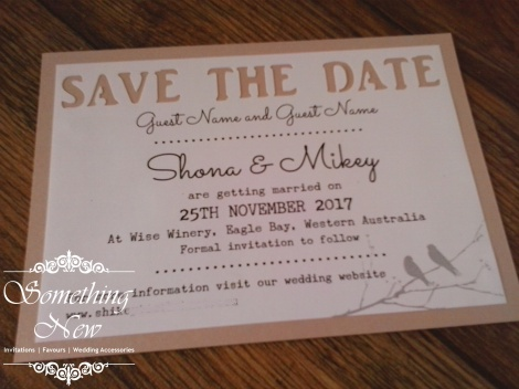 SHONA - SAVE THE DATE