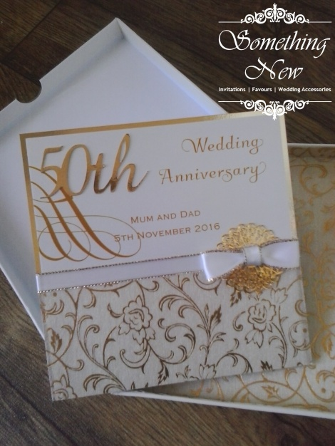 50TH ANNIVERSARY GIFT CARD