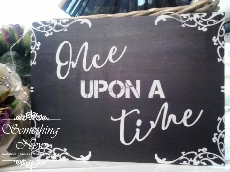 AISLE SIGN - ONCE UPON A TIME
