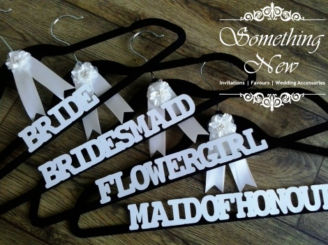 BRIDAL PARTY COAT HANGER - MAID OF HONOUR