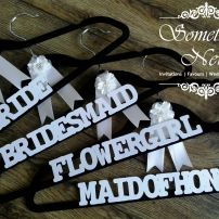 BRIDAL PARTY COAT HANGER - BRIDE