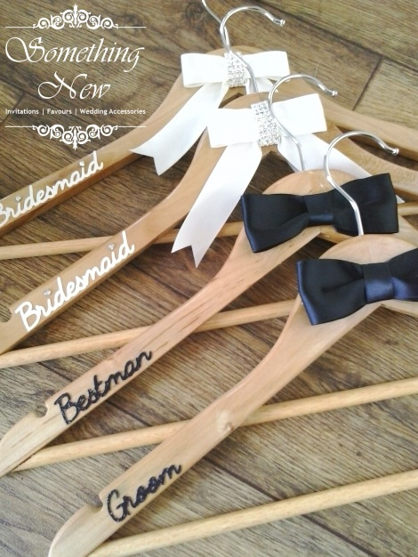 BRIDAL PARTY COAT HANGER - GROOM
