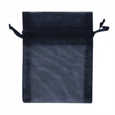 MINI ORGANZA BAG - BLACK