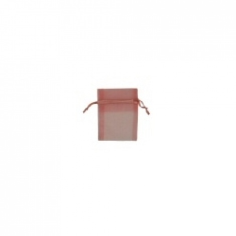 MINI ORGANZA BAG - DUSTY PINK