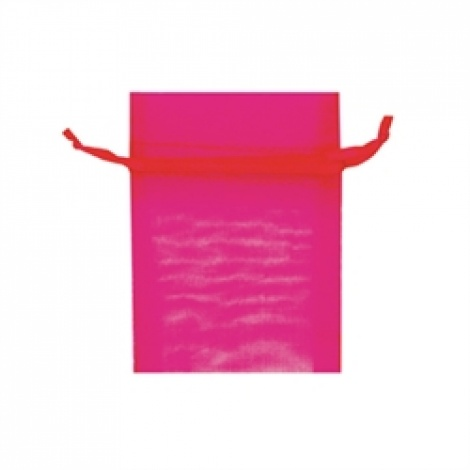 MINI ORGANZA BAG - HOT PINK