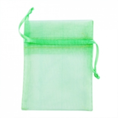 MINI ORGANZA BAG - LIME