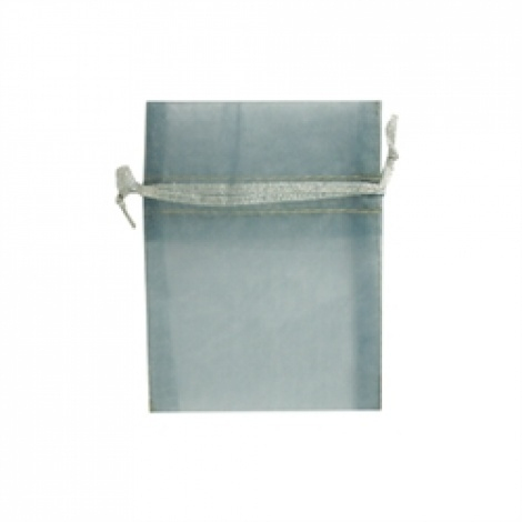 MINI ORGANZA BAG - SILVER