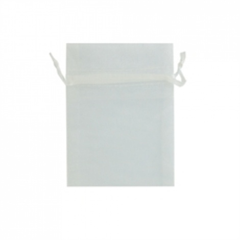 MINI ORGANZA BAG - WHITE