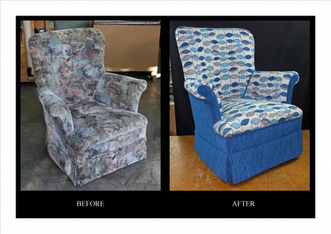 Check out this chair's cool before and after transformation