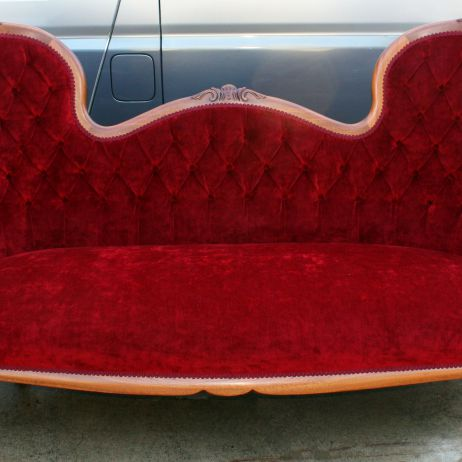 Antique Style Settee