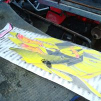 suzuki ltz 400 graphics and seat cover