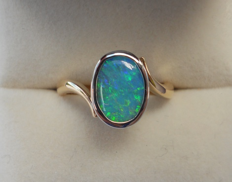 Lady's Opal ring