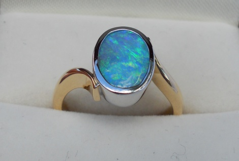 Opal Lady's ring