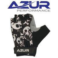 Glove - Azur K10 Series Boys Skulls Fingerless