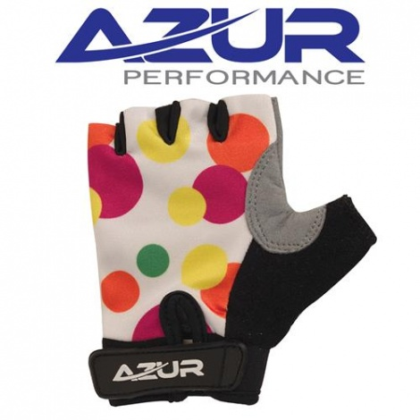 Glove - Azur K5 Series Girls Spots Fingerless