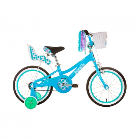 16in Girls BMX - Cruisestar 16 Blue Green