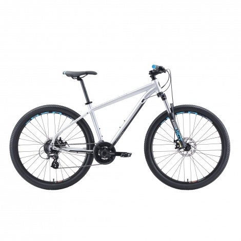 27.5in Malvern Star MTB - Axis 1 Silver