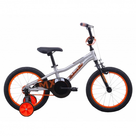 16in BMX Boys - MX16 Brushed Alloy