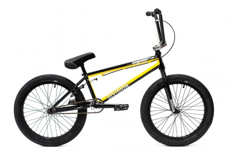 20in Division BMX - Fortiz Black Yellow