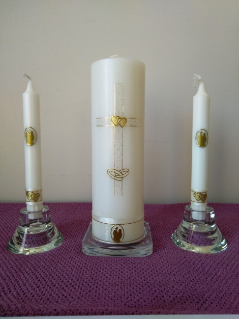 Wedding Candle - RH0023B (GOLD)