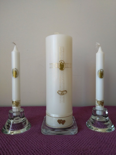 Wedding Candle - RH0023C (GOLD)