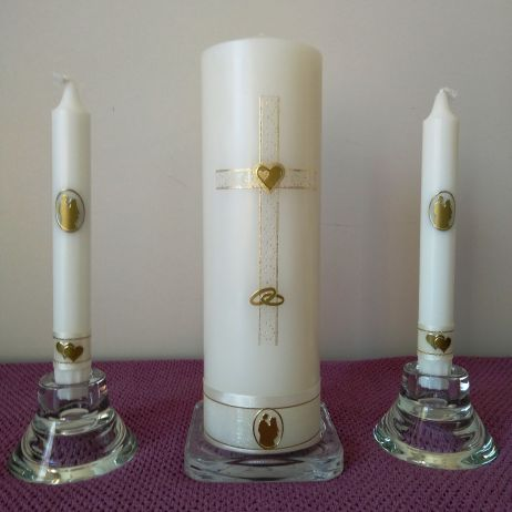 Wedding Candle - RH0023D (GOLD)