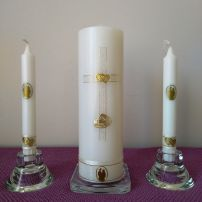 Wedding Candle - RH0023A (GOLD)
