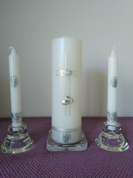 Wedding Candle - RH0023A (SILVER)