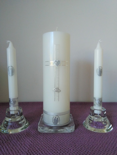 Wedding Candle - RH0023D (SILVER)