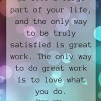Love Your Work!
