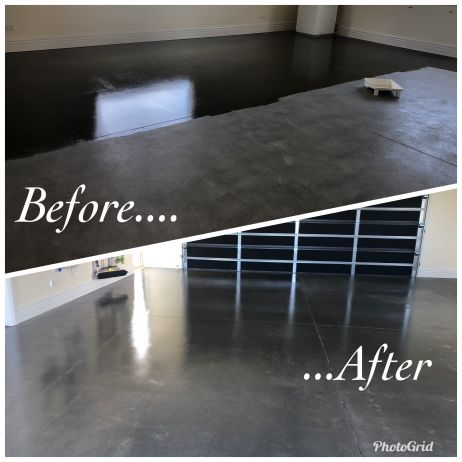 Concrete floor sealing