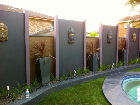 Feature Walls & Garden Lighting