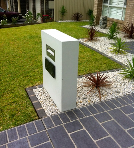 Rendered Letter Box