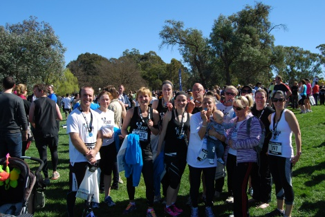 Canberra Times Fun Run September 2012