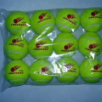12 STAGE 3 LOW COMPRESSION TENNIS BALLS FOR AGE 2-8 YRS