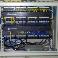 Wall Mounted Data Rack