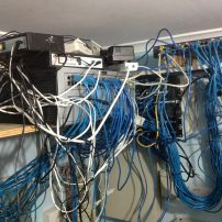 We Love to fix sad data racks like this one and make it clean and tidy