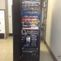 Working with your I.T professional we can create clean tidy solutions