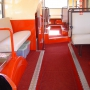 Lower deck of bus