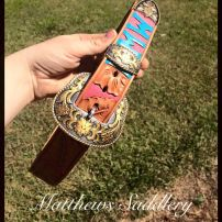 Carved/Painted Belt