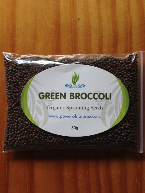 Organic Green Broccoli Seeds