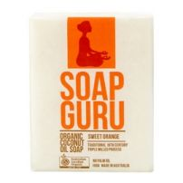 Soap Guru Sweet Orange Organic Coconut Oil Soap 100g