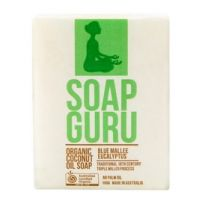 Soap Guru Blue Mallee Eucalyptus Organic Coconut Oil Soap 100g