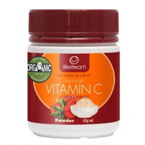 Lifestream Vitamin C Powder 60g