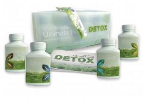 Ultimate Herbal Detox Kit 120caps x4