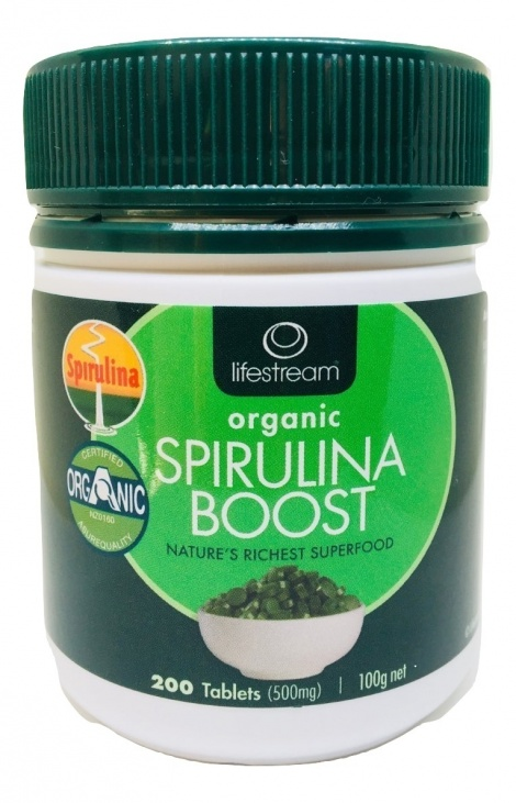 Lifestream Spirulina Boost 200 tablets