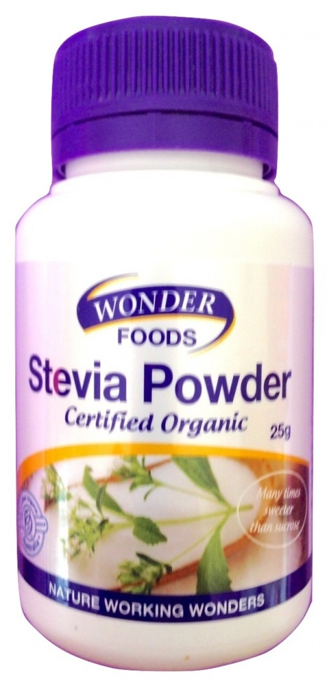 Certified Organic Stevia Powder 25g