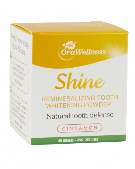 Shine Remineralizing Tooth Whitening Powder 60g